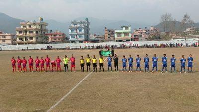 नुवाकोटमा आजबाट प्रदेशस्तरीय फुटवल प्रतियोगितामा शुरु