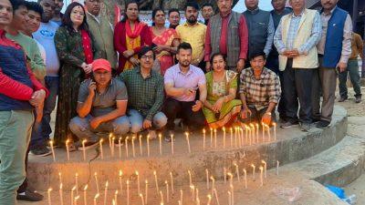 जिपि काेईराला फाउन्डेसन नुवाकोटले मनायाे ११ स्मृति दिवस