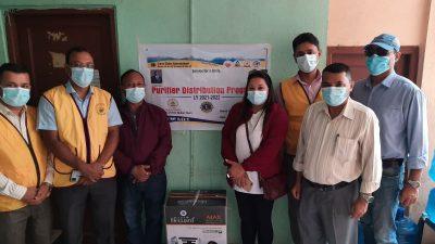लायन्स क्लब अफ काठमाडौं ग्लोबल टाउनको सकृयतामा बृद्ध आश्रमको लागि पानी शुद्धिकरण मेसिन प्रदान