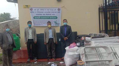 जनस्तरमा सहयोग पुर्याउदै रुडेक नेपाल